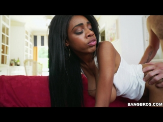 Busty Brittney White Keeps Her Job [Ebony TEEN big natural tits sex porn HD]