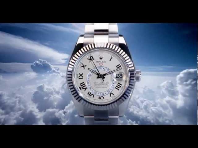 New Rolex Sky-Dweller Watch Commercial (2012)
