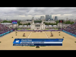 Equestrian - Dressage Team Final - London 2012 Olympic Games
