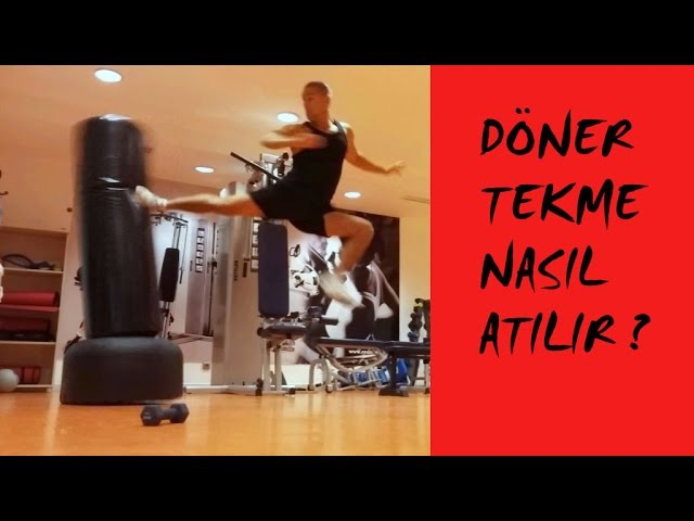 Döner tekme nasıl atılır Türkçe anlatım - Spinning Back Kick Tutorial