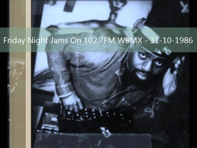 Frankie Knuckles Friday Night Jams On 102 7FM WBMX 31 10 1986