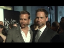 Gabriel Macht and Patrick J. Adams at the Suits and Mr. P.2..