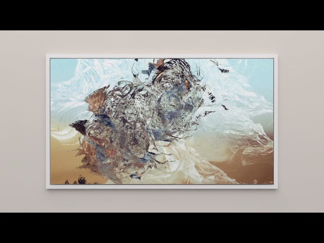 Sougwen Chung The Limitless 無極 The Absolute 太極 Painting 2017
