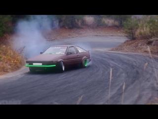 Drift Vine | Toyota AE86 Hachiroku on touge ebisu circuit