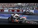 SUPER MOTO POWER BURNOUT DRAG RACING