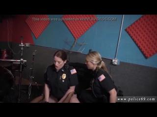 Lesbian cop Raw video grabs police screwing a deadbeat dad порно