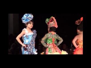 Ngawi Batik Fashion  Lomba Model Kategori A