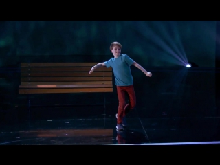 Merrick hanna- young dancer shines with incredible performance - americas got talent 2017