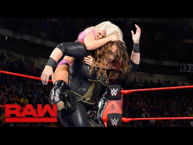 Alexa Bliss vs. Nia Jax Raw Women s Championship Match: Raw June 5 2017