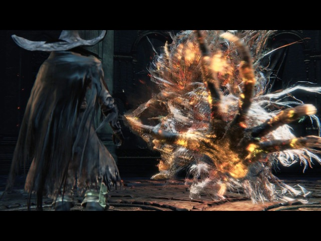 Bloodborne Laurence the First Vicar Boss Fight 1080p