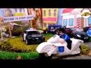 Машина мультик лего видео для детей про машинки полицейская гоночная машина мул