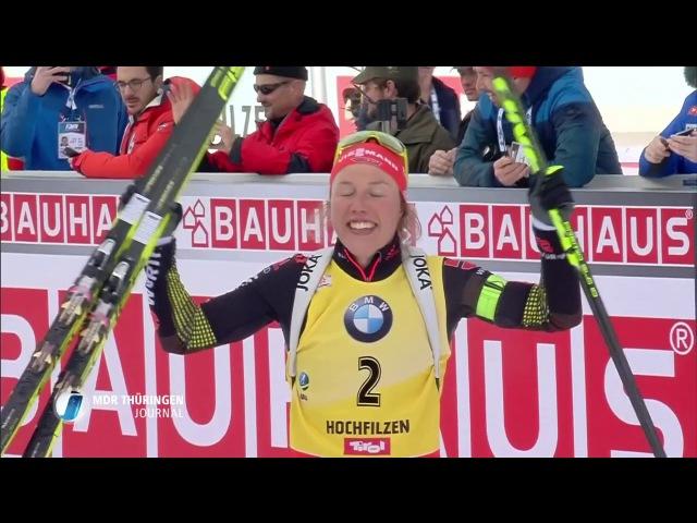 Biathlon WCh-2017. Lesser enttäuscht - Dahlmeier siegt