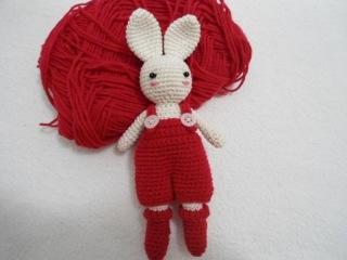 How to crochet sweet bunny