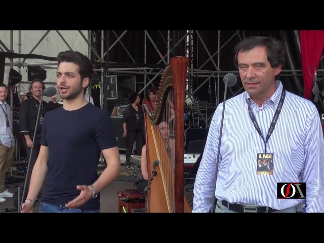 Libiam ne lieti calici a sorpresa con Il Volo e il Maestro Marcello Rota