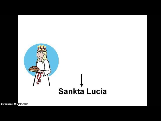 Sankta Lucia - Natten går tunga fjät