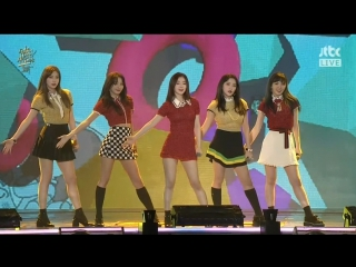 170114 red velvet - one of these nights + russian roulette @ the 31st golden disk awards