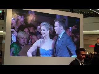 Passengers premiere in Seoul, South Korea with Jennifer Lawrence and Chris Pratt