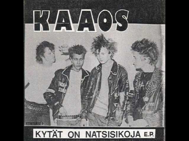 Kaaos Cadgers EP 1981