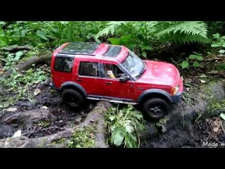 Rc land rover discovery adventure in mud