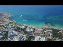 Айя-Напа Кипр,Ayia Napa Cyprus. Aerial photography.Видео съемка с квадрокоптера.