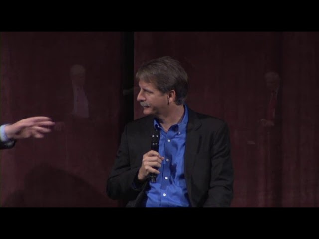 Ravi Zacharias and Dennis Prager with Jeff Foxworthy The Death of Truth The Decline of Culture Q A