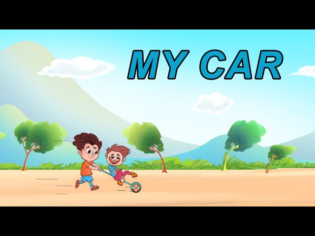 My Car Learn English IND Story for Children and Adults