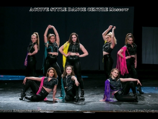 Active Style - Big Hoops - '15 years' Dance Show