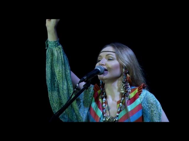 Olena UUTAi Jaw Harp concert Kazakhstan
