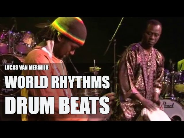 Lucas van Merwijk Djembé Aly N'Diaye Rose drum solo's Senegal Sabar