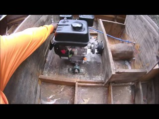 Homemade plywood jet boat (Gearing upgrade)