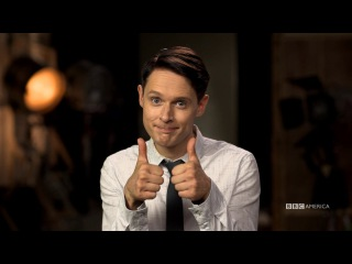 #AskDirk with Samuel Barnett | Dirk Gently's Holistic Detective Agency | October 14 at 9/8c
