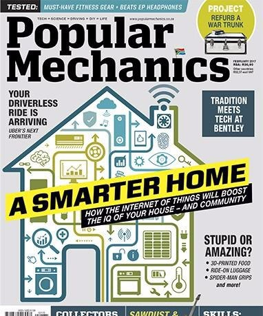 Popular Mechanics South Africa - February 2017