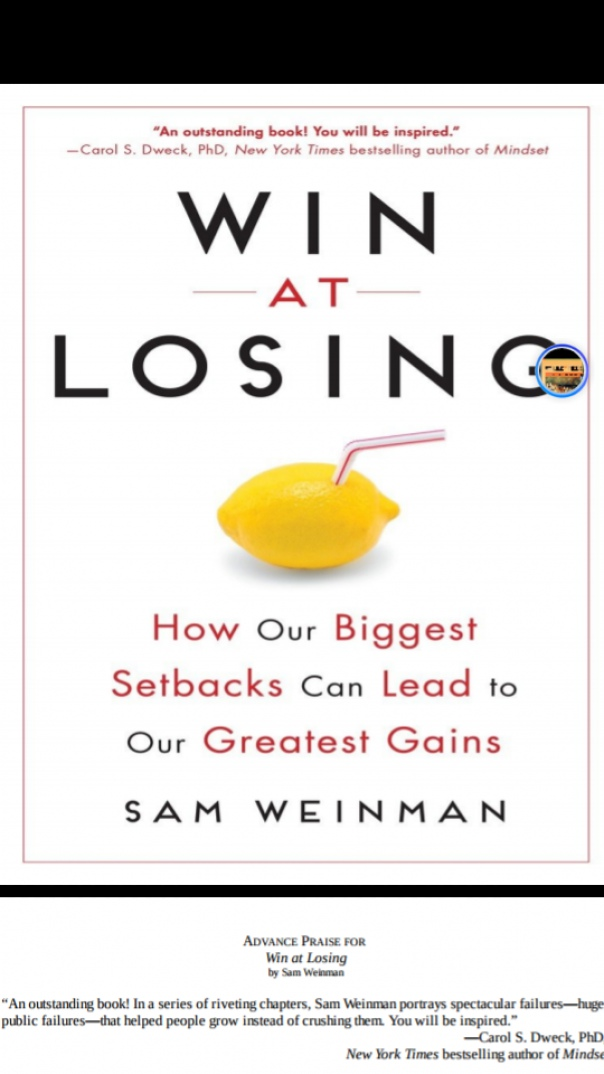 win at losing how our biggest setback