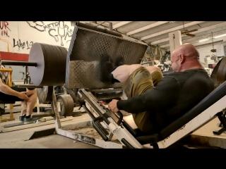 Tony Sentmanat & Branch Warren Train Legs