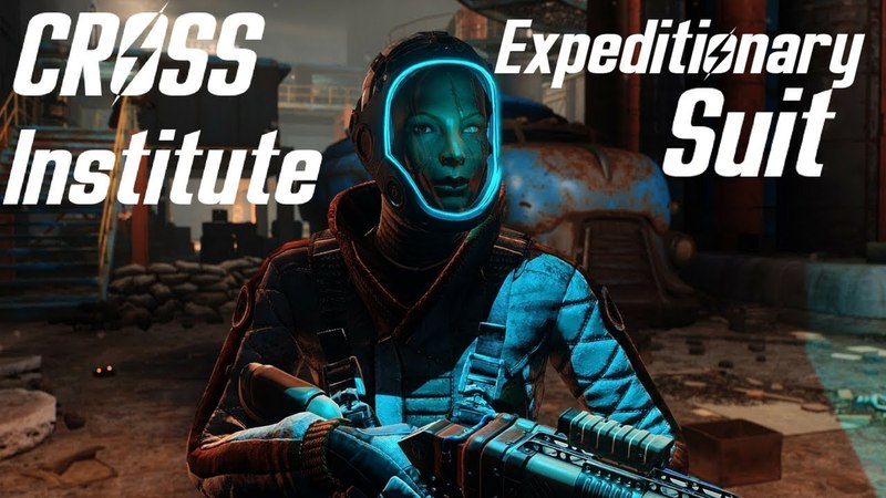 Fallout 4 Cross Institute Expeditionary Suit Showcase Location New Armour PC XBOX By Niero