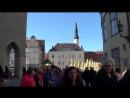 1 Часть Таллин Старый город Tallinn Прогулка по Старому городу