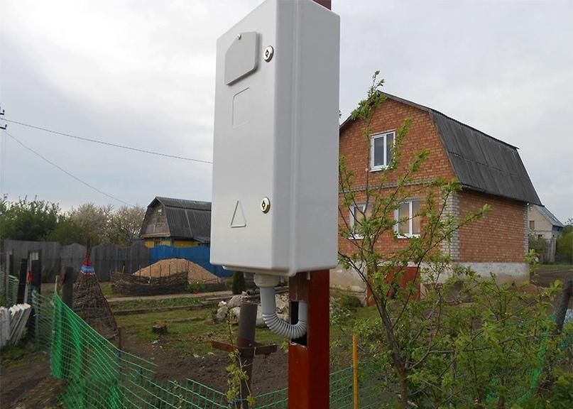 Как выполнить ввод электричества в дом от столба, изображение №2