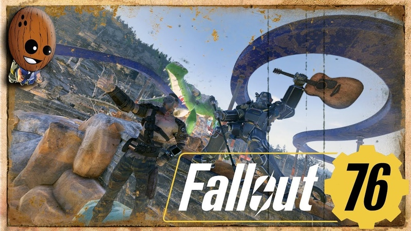 Fallout 76 Прохождение 14➤ Поместье Вудсов Аквапарк Уэйви Уиллард Висяк Бюро по туризму