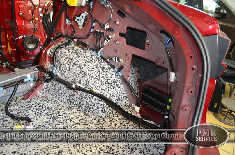 Комплексная шумоизоляция Lexus RX, изображение №11
