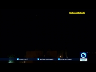 Press tv leak syrian air defenses intercepting israeli missiles