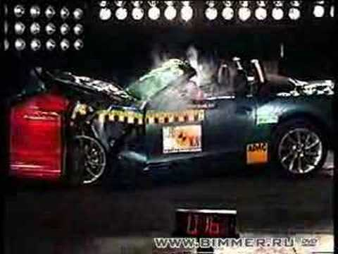 BMW Z4 EuroNCAP crash test