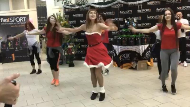 ZUMBA на празднике FLEX SPORT тренер Татьяна Хабина ICON CLUB FITNESS