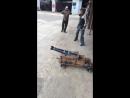 Выстрел из пушки на экскурсиях в кузницу Артини Кривой Рог
