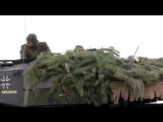 Превосходство НАТО  Танки Leopard 2A6 Германии в Литве