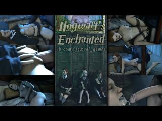 Hogwarts Enchanted Episode 3 (Harry Potter sex)