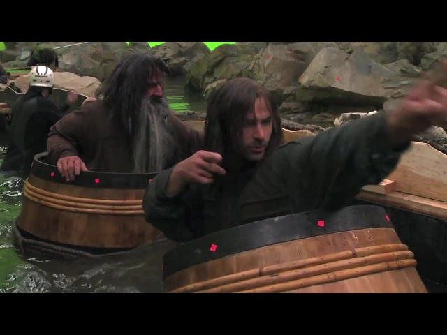 When the levee breaks The Hobbit behind the scenes Dean O'Gorman Fili Aidan Turner Kili Richard Armitage Thorin