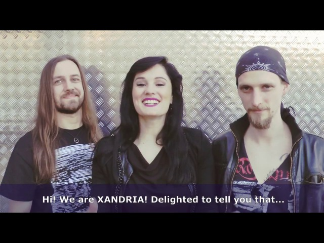 VIP tickets for XANDRIA's first North American HEAD LINE TOUR