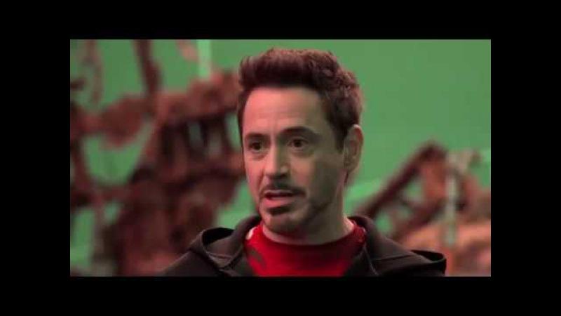 Мстители Война бесконечности Avengers Infinity War 2018 Видео со съемок фильма HD