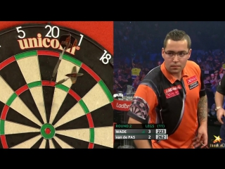 James Wade vs Benito van de Pas (PDC World Series of Darts Finals 2016 / Round 2)