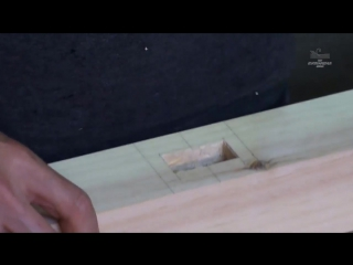 How to Make a Precise Mortise with Clean Edges